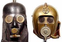 MASKERS / BEELDEN / Gezichtsbedekking en maskers uit de hele wereld.