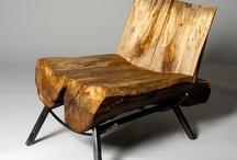 I LOVE WOOD  / Gebruiksartikelen van hout en hout in zijn puurste vorm gevormd door de natuur. / by Maria Anita Walison
