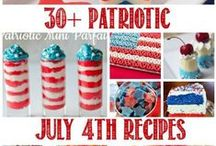 4th of July Ideas / Memorial Day / 4th of July Ideas, Recipes Crafts, DIY Projects and Patriotic Holiday Hacks for Memorial Day, Labor Day, and Veteran's Day! Red, White, and Blue Recipes, Desserts, Snacks, Side Dishes, and Drink Recipes! / by Heather @PassionForSavings