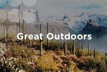 USA Great Outdoors / From wide open spaces and wild frontiers to local parks and unbelievable landscapes, in the USA, nature is never too far away. Here are some of the best places and spaces to explore America's great outdoors.  / by Visit The USA