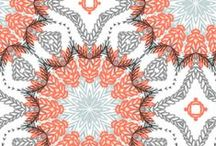 Textiles and Prints / Textile Design, Prints and Patterns, Inspiration.