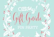 Oh My! Gifts / It's an Oh My! Handmade Goodness Holiday Gift Guide Pin Party! Find all the details over on Oh My! Handmade Goodness: http://ohmyhandmade.com/2013/omhg/gift-guide-party/ / by OMIYAGE - Marisa