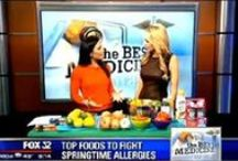 As seen on... / Check out a selection of Lara's appearances on Chicago's local news channels.