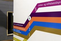 You can go your own way / Wayfinding systems, signage