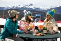 Vail Dining / Pins highlighting the fine dining and food options in Vail, Colorado.