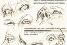 Draw face / Enjoy a collection of face Anatomy. The collection contains illustrations, sketches, model sheets and tutorials