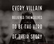Writing - Villains / Strangers & Fiction - Resources to write Villains
