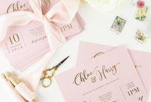 STYLED INVITE IDEAS // WEDDING