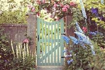 "[garden love] /  ""To plant a garden is to believe in tomorrow."" -Audrey Hepburn / by Sarah Elizabeth"