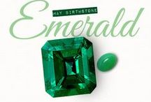"Emerald is May's birthstone...and so much more! /  ""The most abundant hue in nature, the human eye sees more green than any other color in the spectrum,"" Pantone Executive Director Leatrice Eiseman said. Splash it throughout your wardrobe to be eye catching!"