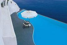Santorini / Ahh Greece. The inspiration for The Santorini Collection.