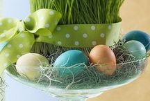 Spring / Easter / Get festive this Easter with some great Easter decor, Spring decor, Easter recipes, and Spring activities!