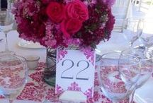 〰Butterfly Linens: pink and fucshias / Linens and textiles to create beautiful events