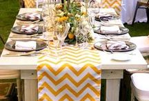 〰Butterfly linens: Yellow