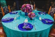 〰Butterfly Linens:  mint, tiffany and turquoise / Linens and textiles to create beautiful events
