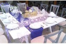 〰Butterfly Lines: Purples, lavender and lilac / Linens and textiles to create beautiful events