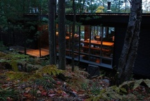 Studio in the Woods / Dreaming of a modern studio at Ravenswood