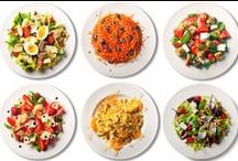 Salads / I set a 2013 goal of eating salad every day. / by Van Waffle