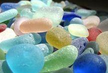 Beach/Sea Glass and Seashells / by Kathy Ison Chernicky