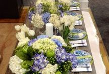 Tablescapes We Love / Table setting inspiration from DeScenza Diamonds- home products, styling tips and more!
