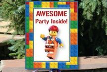 7 year old LEGO Party