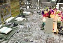 〰Butterfly Linens Linens: Silver and Gray
