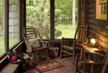 Rustic Life / Inspiration for Ravenswood, our cabin in the woods