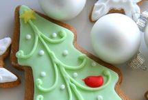 Gingerbread / icing decorations ideas