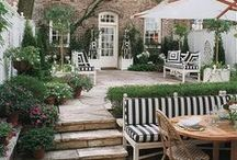 Outdoor Spaces / outdoor living, outdoor spaces, outdoor rooms, outdoor decor