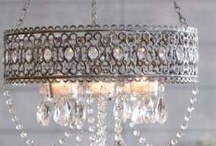 Chandeliers / by Amy Chalmers of Maison Decor Interiors
