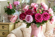 Fabulous Florals / by Amy Chalmers of Maison Decor Interiors