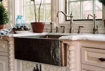 Dream Kitchen Inspiration / Collection of things I love in kitchen, dining, and pantries for my future dream home. / by Tamara Wallace