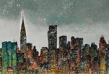 NYC prints / Limited edition signed archival prints by Roxie Munro