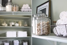 the clean & organized home  / by Mary Ellen Baker