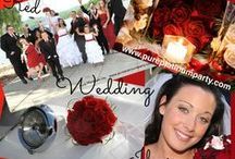 Red Wedding Ideas / by Pure Platinum Party