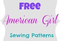 American Girl Dolls / DIY accessories and clothes. / by Tamara Wallace