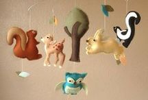 over the river and through the woods / li'l kiwi's nursery / by Maggie Roten