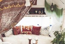 Hippy Chic Caravan inspiration / Inspiraton for vintage caravan makeover