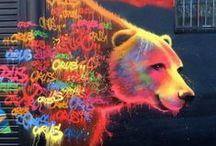 scintillating street art