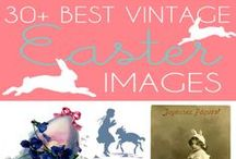 Easter / The best Easter Craft Projects and Ideas, many of them are Vintage Style