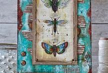 Collage and Mixed Media / Beautiful Collage and Mixed Media Projects and Paper Crafts.