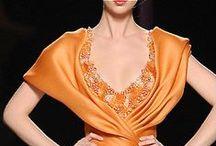 La couleur orange et marron / by Gwendolyn Skinner