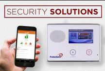 Security Solutions / Protection 1 Home Security Systems give you total peace of mind. We have everything you need to keep you, your family and your property safe.