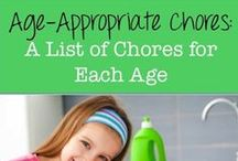 Kids: Life Skills/Chores / by Shellie Person
