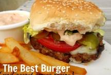 Burgers & Fries / Beef, Bison, Turkey, Taco, Black Bean, Salmon,Veggie, Sloppy, Mini... Love Them Burgers!(And FRIES)