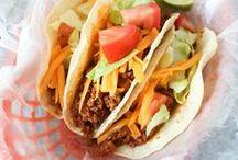 Dinner (My Mexican Menu)