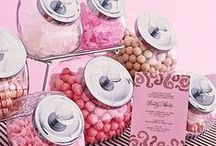 Candy jars, labels, & bags