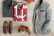 Men fashion sets / Great clothes' combinations