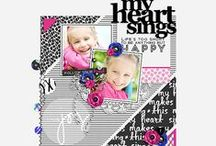 Amber LaBau Designs Layouts / Layouts created using digital scrapbooking products by Amber LaBau. All products can be found at http://the-lilypad.com/store/AmberLaBau / by Amber LaBau