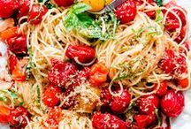 Pasta / Carb lovers unite!  Yummy pasta recipes found here!